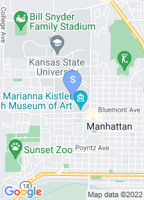 K-State map