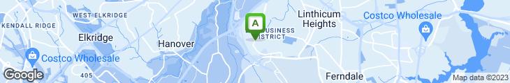 Map of Acqua Restaurant