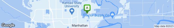 Map of Vista Drive In