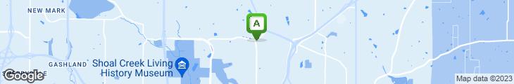 Map of Corner Cafe