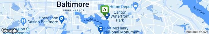 Map of Portside Tavern