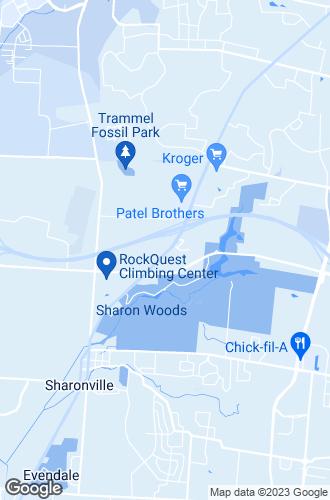Map of Sharonville