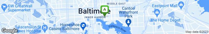 Map of Sabatino's Italian Restaurant