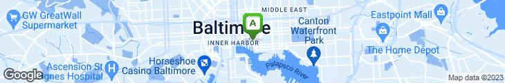 Map of Mo's Fisherman's Wharf Restaurant