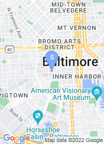 University of Maryland Baltimore map