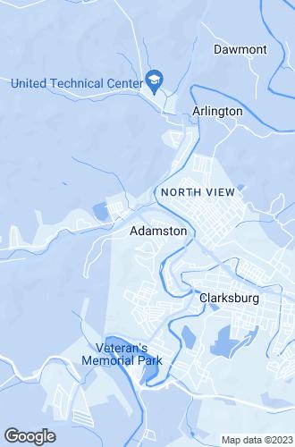 Map of Clarksburg
