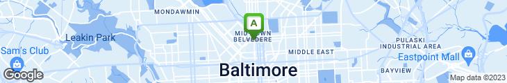 Map of Brewer's Art