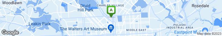 Map of Tapas Teatro