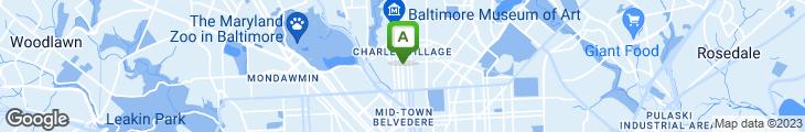 Map of Chen's Hong Kong Restaurant