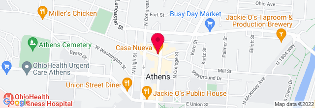 Map for Casa Cantina