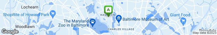 Map of Dogwood Restaurant