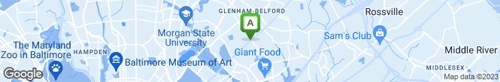 Map of Garden Sea Chinese Restaurant