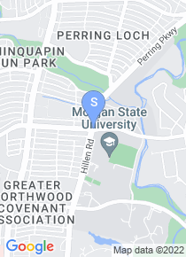 Morgan State University map