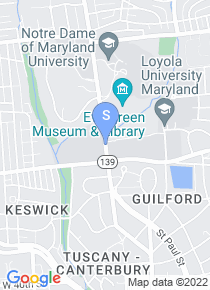 Loyola University Baltimore map