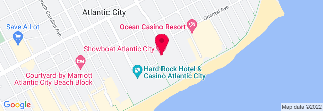 Map for House of Blues