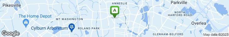 Map of Saigon Remembered Restaurant