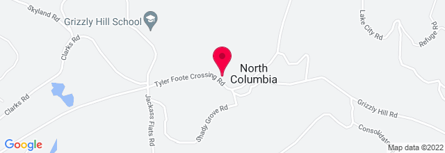 Map for North Columbia Schoolhouse Cultural Center