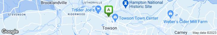 Map of Bubba's Breakaway