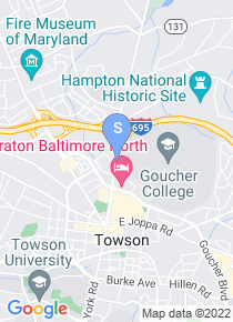 Goucher College map