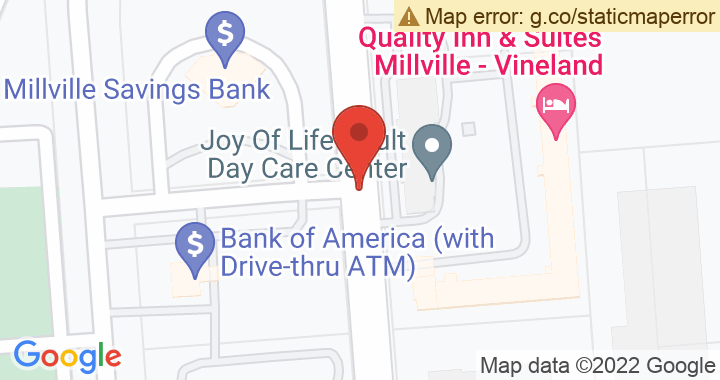 Millville Savings and Loan Association Location Map