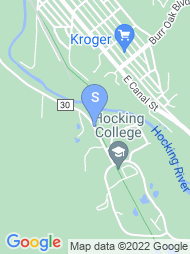 Hocking College map