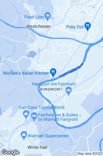Map of Fairmont
