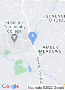 Frederick Community College map