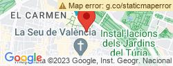 Ferrer San-Segundo valora la situación de la Ciudad de la Justicia de Valencia tras el incendio de la semana pasada