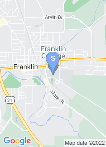 Franklin College map