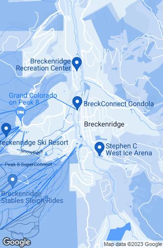 Map of Breckenridge