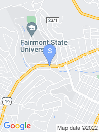 Fairmont State map