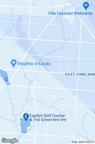 Map of Vineland