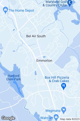Map of Bel Air