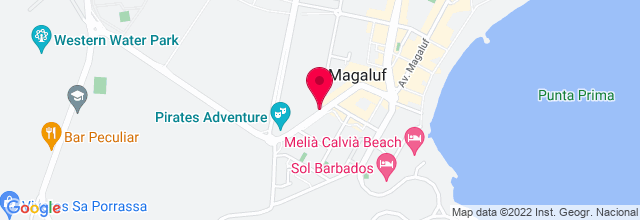 Map for Mallorca Rocks Hotel