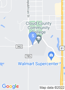 Cloud County Community College map