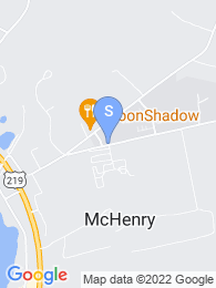 Garrett College map