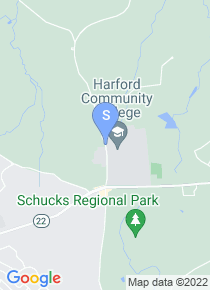 Harford Community College map