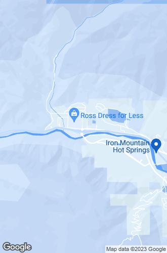 Map of Glenwood Springs