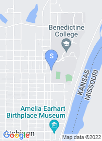 Benedictine College map