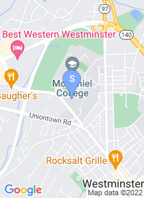 McDaniel College map