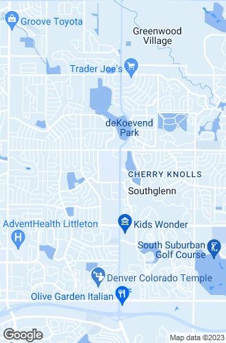 Map of Littleton