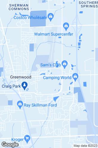 Map of Greenwood