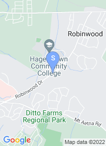 Hagerstown Community College map