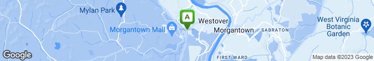 Map of Aquarium Restaurant & Lounge
