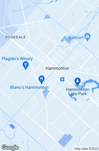 Map of Hammonton
