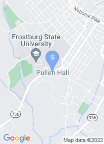 Frostburg State map