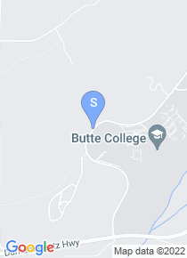 Butte College map