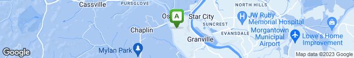 Map of Evergreen Buffet