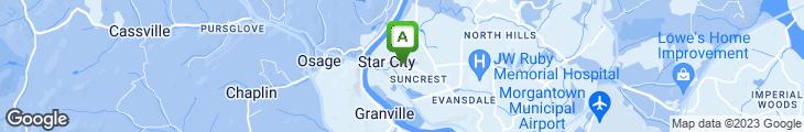 Map of Crockett's Lounge