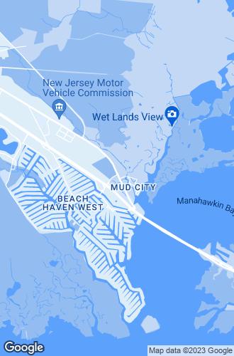 Map of Manahawkin
